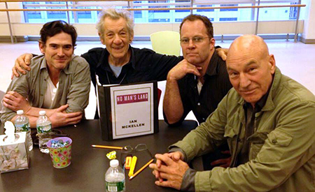 Picture posted on Ian McKellen's Facebook page.