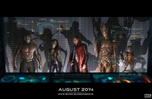 New, recently released concept art for Guardians.