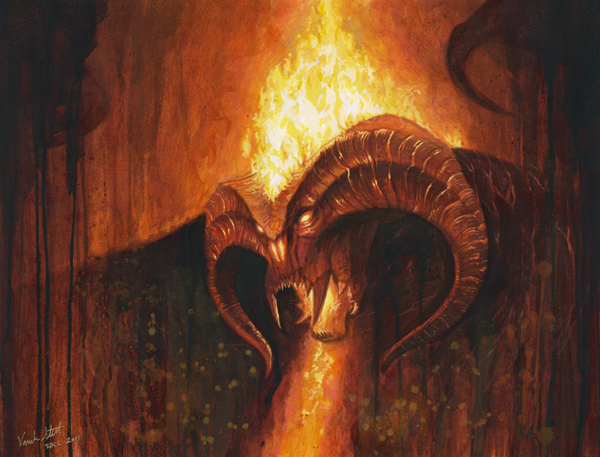 The Balrog - THE LORD OF THE RINGS: © NLP ™ Middle-earth Ent. Lic. to New Line. (s13) stated