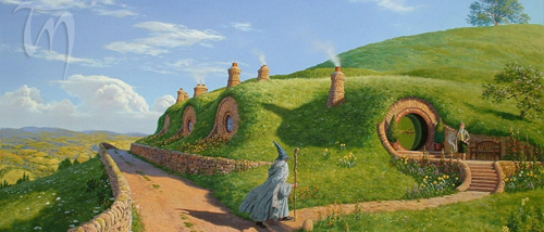 """""""One Morning Long Ago"""" by Ted Nasmith"""
