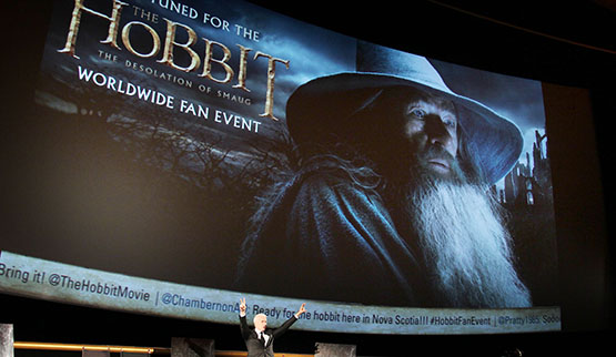 "Worldwide Fan Event For ""THE HOBBIT: THE DESOLATION OF SMAUG"" with HOST: CNN's Anderson Cooper"
