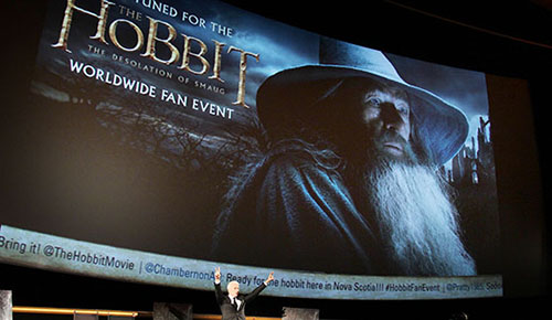 """Worldwide Fan Event For """"THE HOBBIT: THE DESOLATION OF SMAUG"""""""