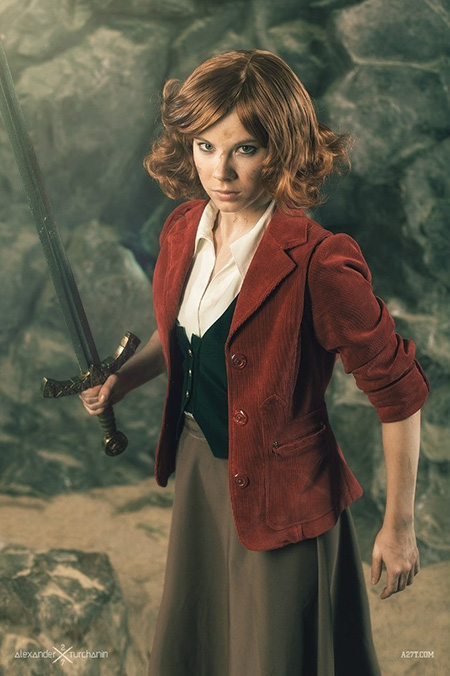 Bilbo is darling and dangerous. And I need her coat!