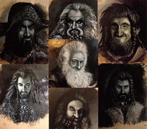 Dwarf prints from Jay Johnstone