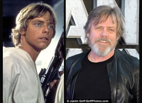"""Luke Skywalker from """"A New Hope"""" to Episode VII"""
